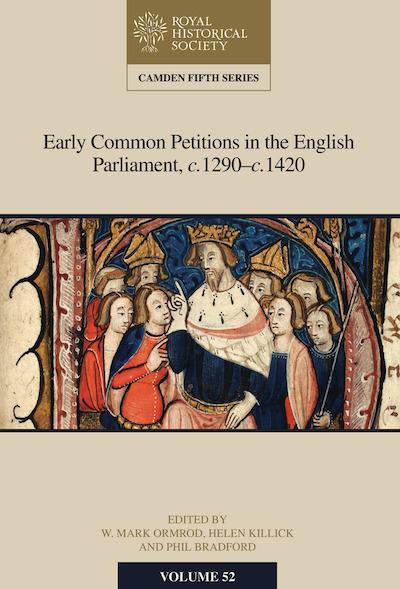 New Camden Volume on MedievalPetitions