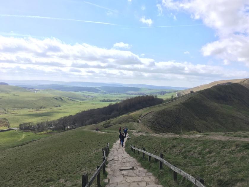 Hickman Peak District NP paths and walkers