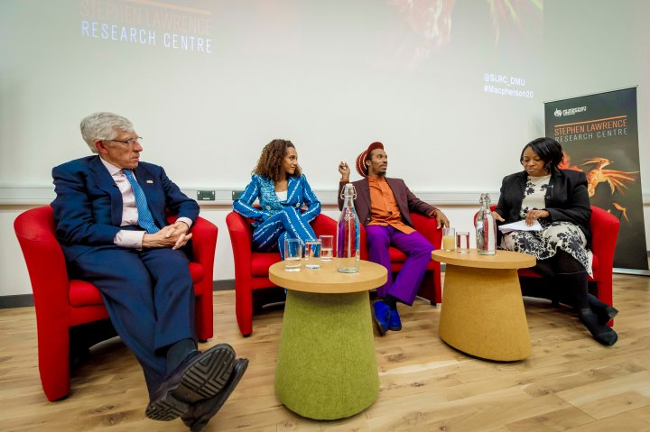 Panel Discussants at the SLRC Launch Event