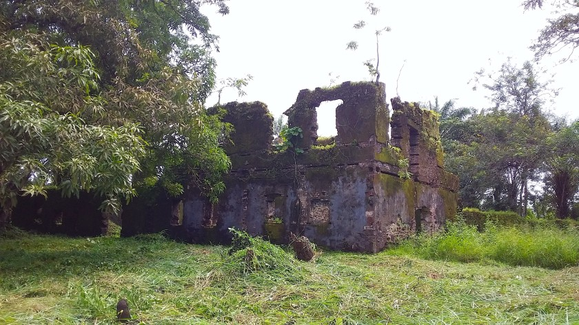 Bunce Island - Administrative Building